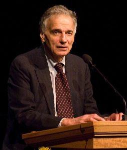 Ralph Nader.